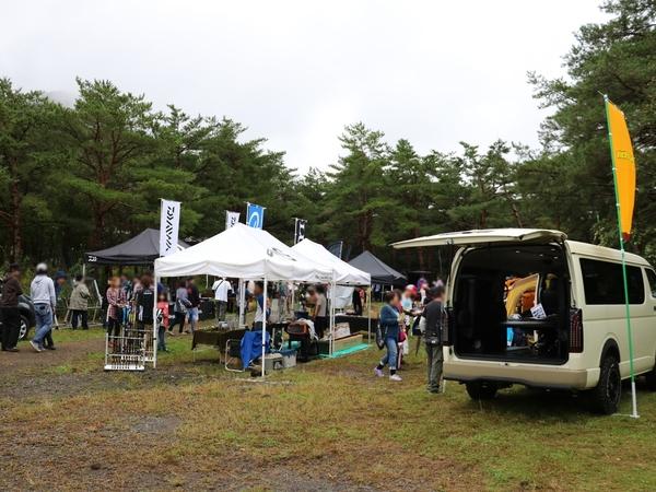 ロッドアンドリール イベント PICA富士西湖