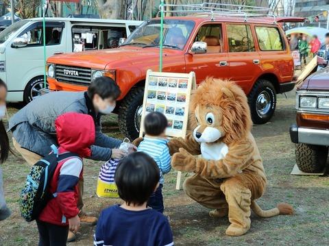 TOKYOoutsideFestival_2017_新宿中央公園_FDライオン_子供たち_人気_フレックスドリーム_ブース