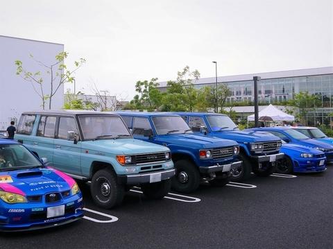 TSUTAYA_Tsite_モニクル_テーマ車_青いクルマ_青いランクル_プラド_ランクル60