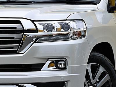 新型ランクル200現行モデル LEDヘッドライト&フォグランプ