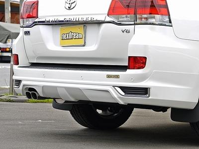 新型ランクル200現行モデル モデリスタリアバンパースポイラー装着の中古車