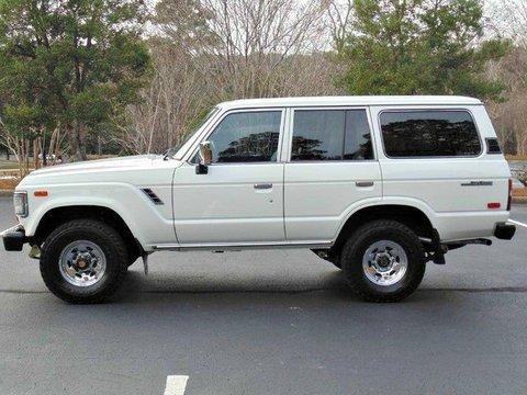 1989年モデル_ランクル60_左ハンドル_FJ62LG_白_アメリカ_中古車_情報サイト_極上車_高額_ノーマル_サイドビュー