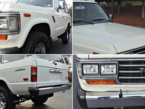 1989年モデル_ランクル60_左ハンドル_FJ62LG_白_アメリカ_中古車_情報サイト_極上車_高額_ノーマル