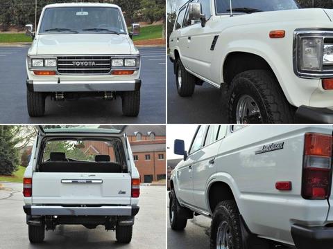1989年モデル_ランクル60_左ハンドル_FJ62LG_白_アメリカ_中古車_情報サイト_極上車